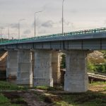 Опоры моста, фундамент