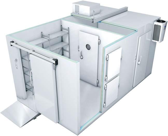 Схема сборки холодильной камеры
