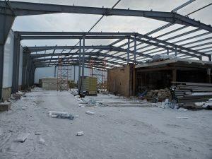 Быстровозводимое здание из металлоконструкции Магадан