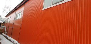 Быстровозводимое здание из металлоконструкций в Екатеринбурге